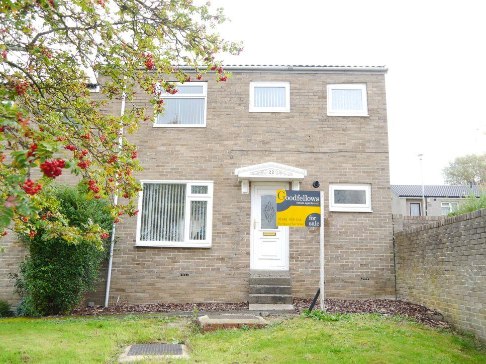 2 Bedrooms Semi Detached House for sale in Chapel Close, Acomb, Hexham